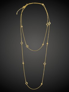 Gold Necklace Love Story