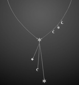 Silver Necklace Make A Wish