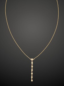 Gold Necklace Dot Mania