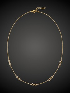 Gold Necklace Stardust