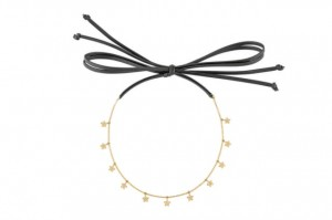 Złoty Choker Star Neck