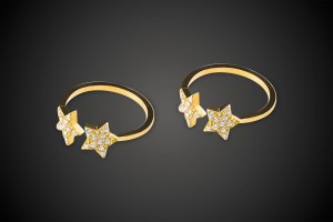 Gold Ring Starred