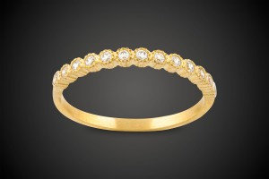 Gold Ring Tiara